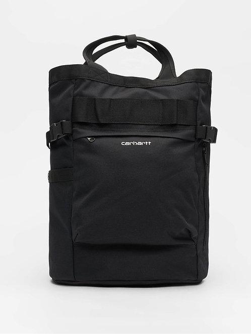 Carhartt WIP - Backpack Payton Carrier 23,4 L  Black Мужской черный рюкзак из прочного материала
