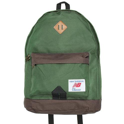 Зеленый рюкзак New balance Classic Унисекс рюкзак,классика.