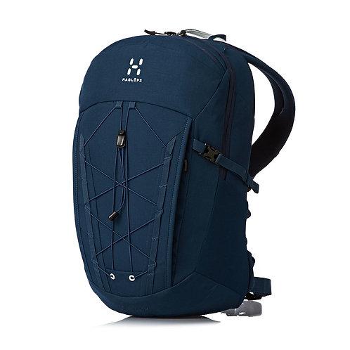 Haglofs Vide 20 Litre Backpack Blue Ink Мужской прочный синий рюкзак.