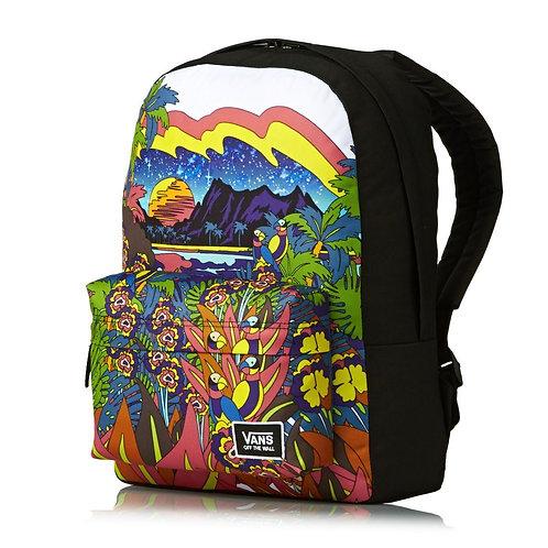Vans Backpacks - Vans Realm Classic Backpack - Punta Bella Женский рюкзак с принтом от Vans