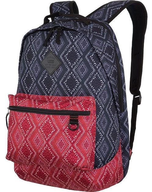 Vans Tiburon Bandana Parisian Night Backpack  Женский вместительный рюкзак на каждый день.