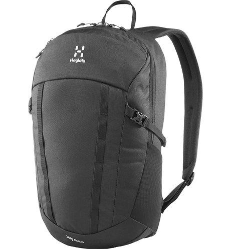 Haglofs Salg Medium black Мужской черный рюкзак из прочного материала