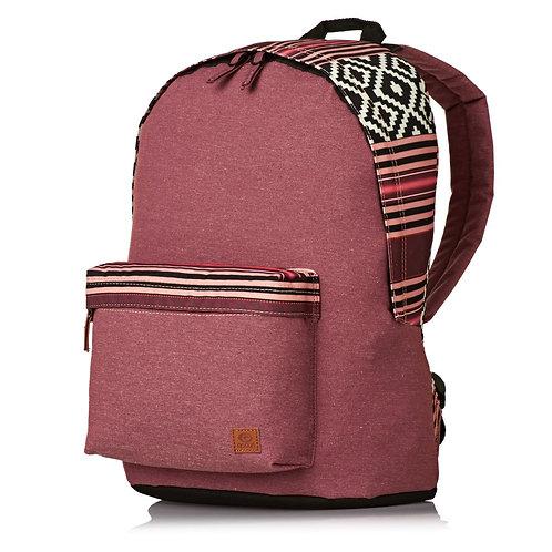 Красивый бордовый рюкзак дешево женский не дорого