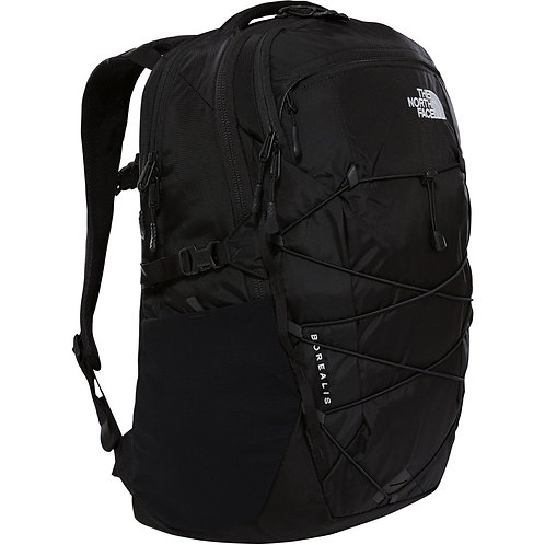 The North Face BOREALIS BACKPACK  TNF BLACK(Mens). Мужской черный рюкзак на каждый день.