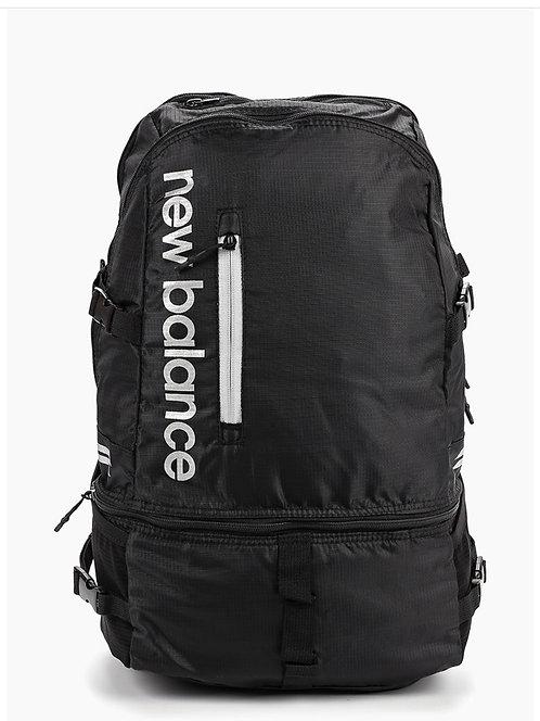 Черный крепкий рюкзак New Balance NB Fresh Commuter Backpack with Laptop & Shoe Compartments