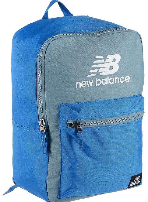 Светлый серо-синий рюкзак. New Balance Booker Backpack Blue/Gray