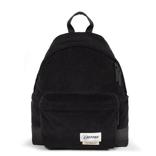 Женский черный вельветовый рюкзак EASTPAK LAB X THE CORDS & CO. PADDED PAK'R CORDSDUROY BLACK