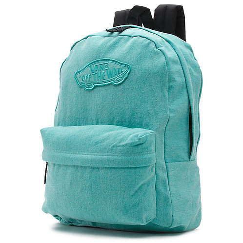 Vans-backpack Realm backpack blue Голубой рюкзак Vans для молодежи.