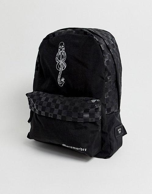 Vans X Harry Potter  Dark Arts Backpack Черный эксклюзивный рюкзак унисекс
