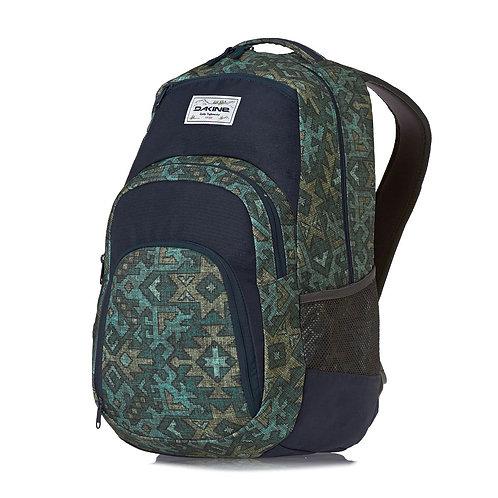 Рюкзак Dakine зеленый и прочный,не дорого. Городской,много карманов.