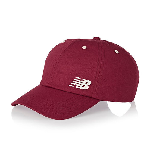 New Balance 6-Panel Cap Mercury Red-Красная кепка-унисекс