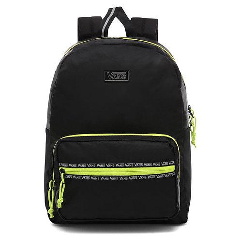 Черный с отражателями женский рюкзак из нейлона Vans after dark