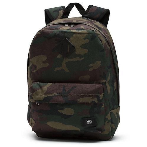 Vans - Old Skool Plus Classic Camo - Backpack Мужской прочный рюкзак с военым принтом