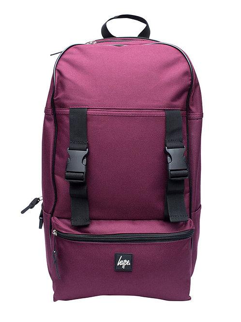 HYPE MEN'S TRAVELLER BACKPACK,Burgundy-Вместительный мужской рюкзак от HYPE