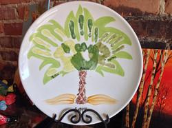 Hand Print Embellishing
