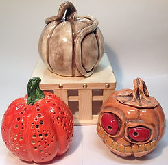 Halloween Pumpkins and monsters.JPG