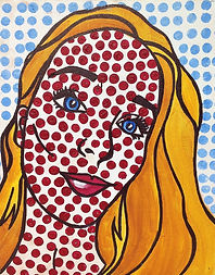 Lichtenstein Comic Book Self Portrait.JP