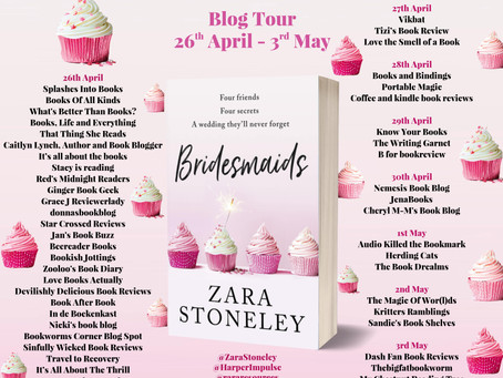 Blog Tour and Book Review: Bridesmaids by Zara Stoneley