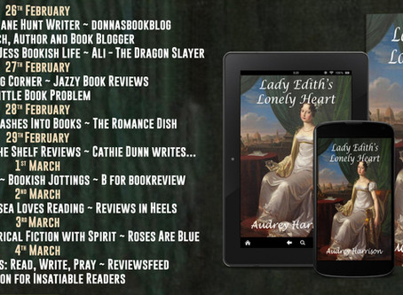 Lady Edith's Lonely Heart by Audrey Harrison