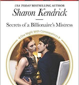 Book Review: Secrets Of A Billionaire's Mistress by Sharon Kendrick
