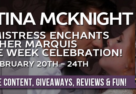 BLOG TOUR STOP: The Mistress Enchants Her Marquis by Christina McKnight