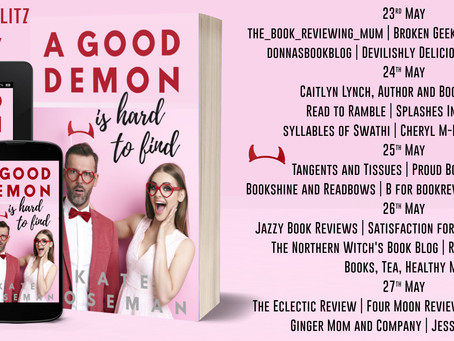 Blog Tour and Book Review: A Good Demon Is Hard To Find by Kate Moseman