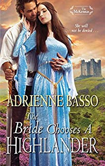 The Bride Chooses A Highlander by Adrienne Basso