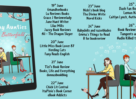 Blog Tour and Book Review: Agony Auntics by Julie Butterfield