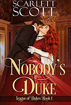 Book Review: Nobody's Duke by Scarlett Scott