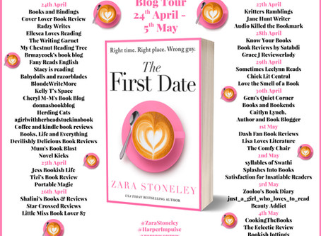 Blog Tour and Book Review: The First Date by Zara Stoneley