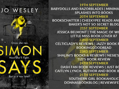 Blog Tour and Book Review: Simon Says by Jo Wesley