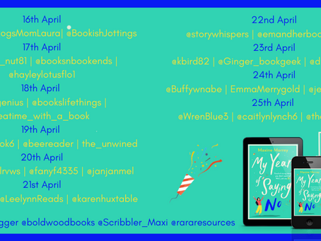 Blog Tour and Book Review: My Year of Saying No by Maxine Morrey