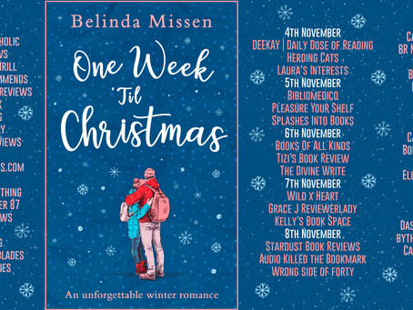 Blog Tour and Book Review: One Week 'Til Christmas by Belinda Missen