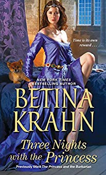 Three Nights With The Princess by Betina Krahn