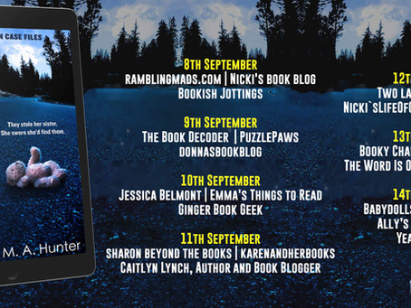 Blog Tour and Book Review: Ransomed by M.A. Hunter