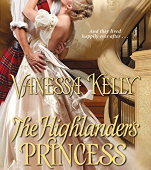 Book Review: The Highlander's Princess Bride by Vanessa Kelly