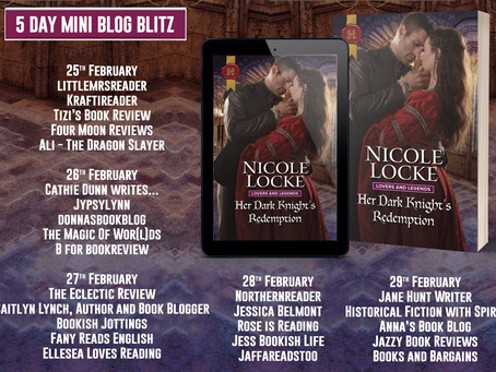 Blog Tour and Book Review: Her Dark Knight's Redemption by Nicole Locke