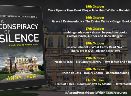 Blog Tour and Book Review: A Conspiracy of Silence by Anna Legat