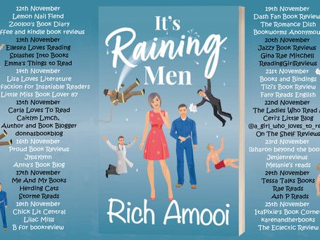 Blog Tour and Book Review: It's Raining Men by Rich Amooi