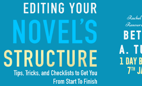 Blog Tour and Book Review: Editing Your Novel's Structure by Bethany A. Tucker
