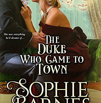 Book Review: The Duke Who Came To Town by Sophie Barnes