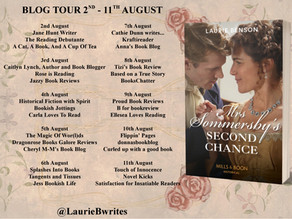 Blog Tour and Giveaway: Mrs. Sommersby's Second Chance by Laurie Benson
