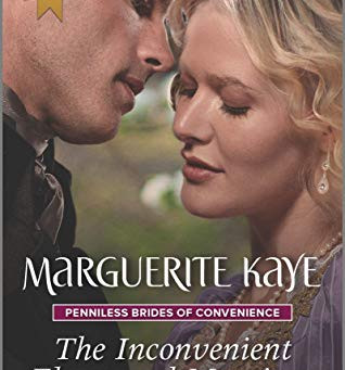 Book Review: The Inconvenient Elmswood Marriage by Marguerite Kaye