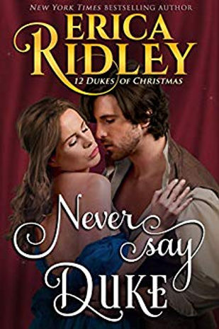Book Review: Never Say Duke by Erica Ridley