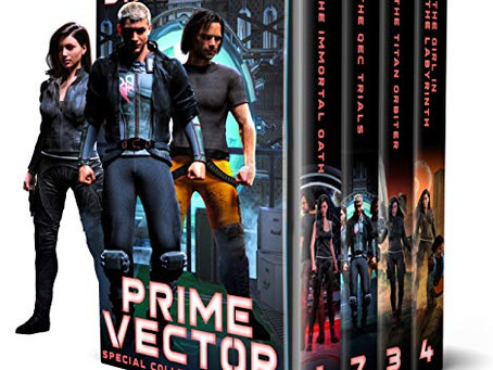 Book Review: Prime Vector: Collection Books 1-4 by D.A. Hicks