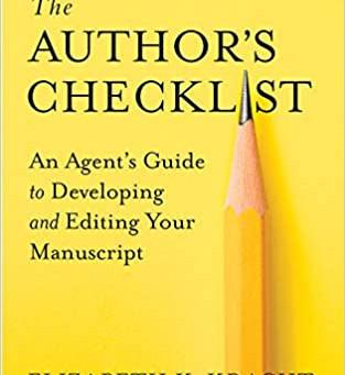 Non-Fiction Book Review: The Author's Checklist by Elizabeth K. Kracht