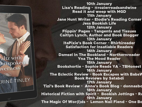 Blog Tour and Book Review: A Waltz with the Outspoken Governess by Catherine Tinley