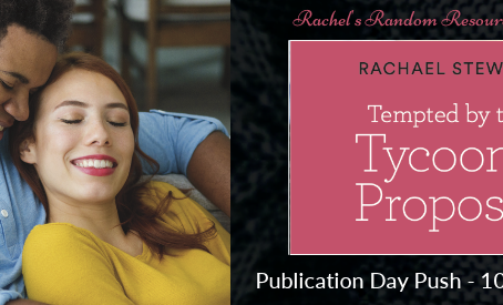 Blog Tour and Book Review: Tempted By The Tycoon's Proposal by Rachael Stewart