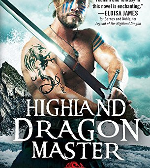 Book Review: Highland Dragon Master by Isabel Cooper