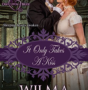 Book Review: It Only Takes A Kiss by Wilma Counts
